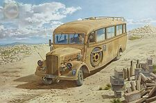 Opel Blitz 3.6-47 Omnibus model W39 Ludewig-built late Roden 808 1/35