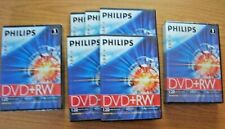 15 Philips DVD+RW Blank Recordable Discs  - new and unused - bargain price