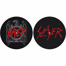 Slayer Slipmat Set: Eagle/Scratched Logo