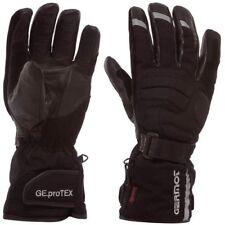 GERMOT Motorrad Handschuhe DALLAS Leder Textil Winter wasserdicht schwarz 9 / L