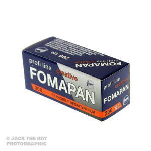 Fomapan 200 Black and White 120 Medium Format Camera Film ISO 200 Factory Fresh