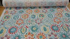 P Kaufmann Antique Stone Sunshine Indoor Outdoor Print Upholstery Fabric BTY
