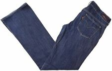 LEVI'S Womens Low Waist Jeans W28 L34 Blue Cotton Bootcut Slight Curve BP09