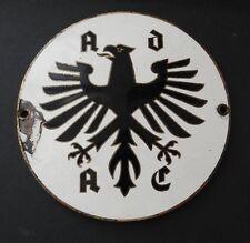Kühler-Plakette ADAC Mitglied Oldtimer Emaille Schild 60er Jahre mit Magnet