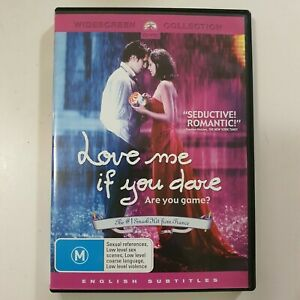 Love Me If You Dare (DVD, 2005) Region 4 Very Good Condition