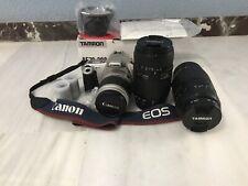 Canon EOS 300 réflex analógica autofocus, Tamron AF70-300mm F/4-5.6 LD MACRO