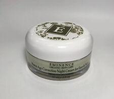 Eminence Monoi Age Corrective Night Cream for Face & Neck 2 oz. New Unboxed