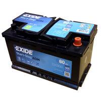 EXIDE AGM Start-Stopp-Batterie EK800 EN (A): 800 12V 80AH neuestes Model 2014/15