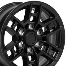 16x7 Satin Black Wheel Set Of 4 Fits Pt946 35200 02 Toyota Tacoma 4runner Trd Fits 2004 Toyota Tundra