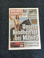 BERLINER KURIER 7.6.2015 WINNETOU Pierre Brice ABSCHIED FAREWELL TOD Cover