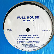 """SHADY GROOVE go-go LP on FULL HOUSE """"On the Move Live"""" orig D.C. RARE NM- ~ WOW!"""