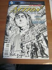 Action Comics #  7 May 2012 New 52 - Rags Morales Incentive Cover - 1:200