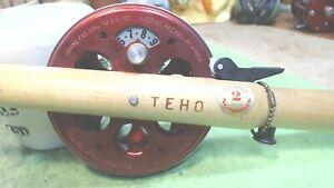 Vintage-Normark-Thrumming -Teho Jiggler -FINLAND-Aluminum Spool Great condition