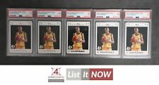 2007 TOPPS ROOKIE CARD #2 KEVIN DURANT RC PSA 7 LOT OF 5 A3158939-471