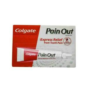 Colgate Pain OUT Dental Gel Express Relief Tooth Pain Gel 10gm