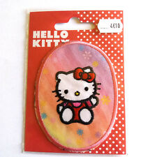 1 thermocollant HELLO KITTY blanc et rouge - applique a coudre