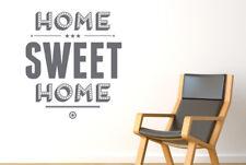 Home Sweet Home Show Case  Muraux Vinyle Décor Pochoirs Murals