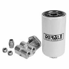 "Derale 13070 Fuel Filter and Water Separator Kit 1/2"" NPT Inlet & Outlet Size"