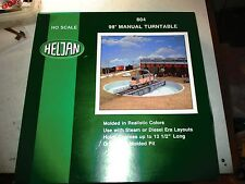 HELJAN # 804  98 FT MANUAL TURNTABLE. GH.O.SCALE . STEAM OR DIESEL LOCOS.