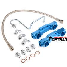 HIGH FLOW FUEL RAIL LINE KIT FOR Subaru WRX STI GC8 EJ20 V5 V6 Blue