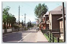 QUEBEC POINT AU PIC MAIN STREET POSTED 18 APRIL 1970 TO RADIO CANADA, MONTREAL