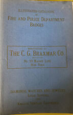 More details for illustrated catalogue of fire and police depatment badges the c g braxmar co nyc