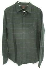 Men's TONY HAWK Long Sleeve Button Down Striped Collared Shirt Size Large