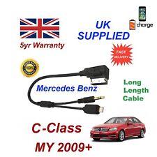 Per Classe Mercedes Benz C Samsung Galaxy HTC Sony MICRO USB & AUX 3.5 mm Cavo L
