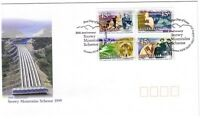 "1999 FDC Australia. Snowy Mountains. Sheet perf. PictFDI ""COOMA"""