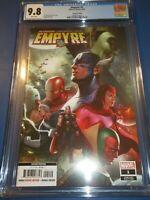 Empyre #1 Rare Lee 2nd print Variant CGC 9.8 NM/M Avengers X-men Gorgeous gem