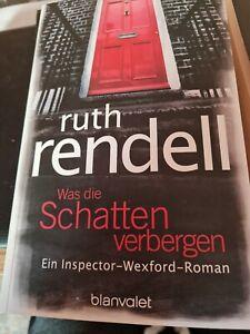 Was die Schatten verbergen: Ein Inspector-Wexford-Roman - Ruth Rendell [Broschie