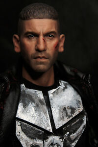 Custom 1/6 Scale BD Ver Jon Bernthal Punisher Frank Castle Head Sculpt