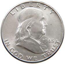 UNITED STATES HALF DOLLAR 1948 D #s58 451