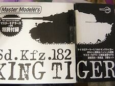 """Dragon Can.do 1/144 Special Limited Edition King Tiger, """"Master Modelers Vol.19"""""""