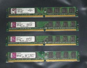 1GB 2GB 4GB 8GB KINGSTON DDR2 667/800MHz Dimm pol.240 PC2-5300U/6400U PC RAM LOW