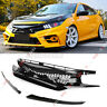 ABS Front Bumper Hood Grille Upper Grill Mesh For Honda Civic 10th Gen  !! !!