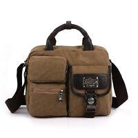 New Men's Travel Handbag Shoulder Bag Messenger Satchel Canvas Briefcase Tote
