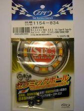 ZPI BOUSEI SiC Ball Bearings 5x11x4 / 3x8x4 mm - ABU, Daiwa, Shimano