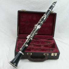 Buffet Crampon E11 Wood Bb Clarinet (Silver), Excellent Condition+New Pads!