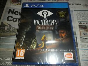 PS4  GAME  LITTLE NIGHTMARES  COMPLETE EDITION   NEW SEALED