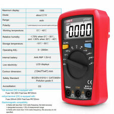 Uni T Ut33a Lcd Handheld Auto Range Acdc Ohm Voltage Digital Multimeter Tester