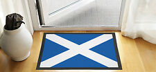 "24"" X 16"" SCOTTISH FLAG SCOTLAND DESIGN ENTRANCE DOOR MAT NON SLIP ADVERTISING"