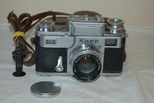 Kiev-3 Rare Vintage 1954 Soviet Rangefinder Camera and Case. Jupiter-8. A-544814