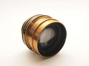 Taylor- Hobson COOKE Series III 6 1/2 x 4 3/4 7.5 Brass Lens. Stock No U6551