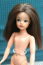 Vintage Pedigree Sindy doll Trendy girl brunette rerooted OOAK VGC