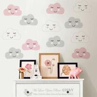 Cute Clouds Wall Sticker Kids Nursery Decor Removable Vinyl Decal Art Mural Gift