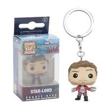 Funko Pocket Pop Keychain Guardians Of The Galaxy Vol. 2: Star-Lord Bobble Head!