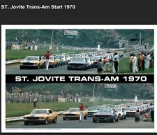 ST. Jovite Trans-Am 1970 Start Of Race AMX,Boss 302,Car Poster WOW!!!!