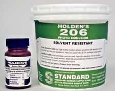 Holden's 206 Diazo Photo Emulsion for Plastisol Screen Printing Inks - Quart
