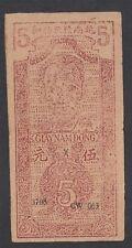 A2262 Vietnam 5 dong 1946